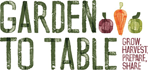Garden to Table Logo